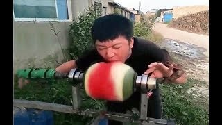 Try Not To Laugh Funny People Fails   People doing stupid things compilation