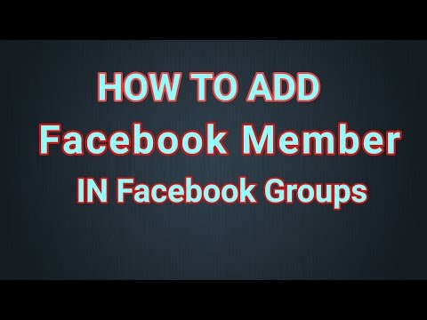 How To Add Members To Facebook Groups At one Click from Mobile Urdu Hindi 2017