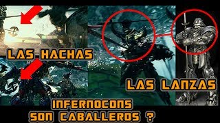 INFERNOCONS SON CABALLEROS? Transformers The Last Knight - ANALISIS