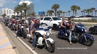 Daytona Beach Biketober Fest Rocket Launch