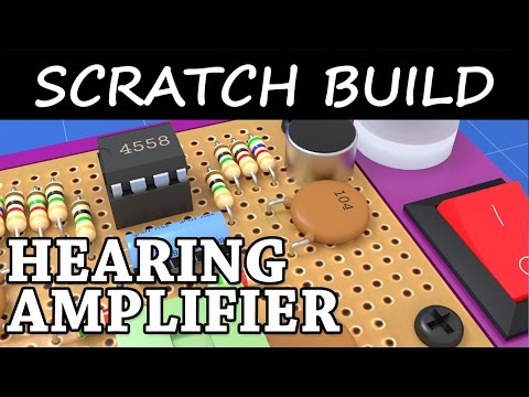 DIY Low Cost Stereo Hearing Aid | Hearing Amplifier