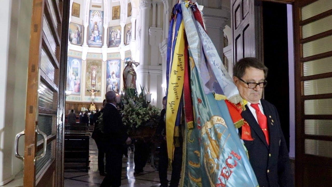 ACTOS SANTA CECILIA  TRASLADO DE LA IMAGEN