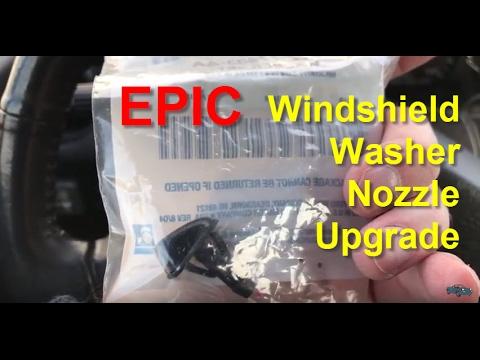 NA Miata - Epic Windshield Washer Nozzle Upgrade!
