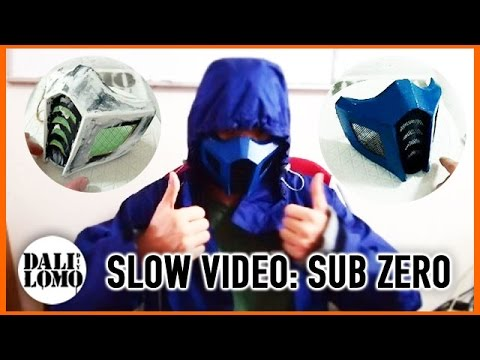 Make Mortal Kombat SubZero Mask - Cardboard How to DIY Cosplay