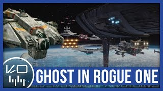 "Every appearance of ""The Ghost"" in Star Wars Rogue One (Highlighted)"