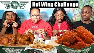 Download WING STOP HOT WING CHALLENGE Video