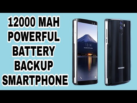 World Highest Battery Backup Smartphone | 12000 Mah powerful battery must watch| tach must watch