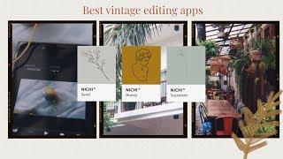 Unpopular Retro Editing Apps Vintage Glitch Aesthetic