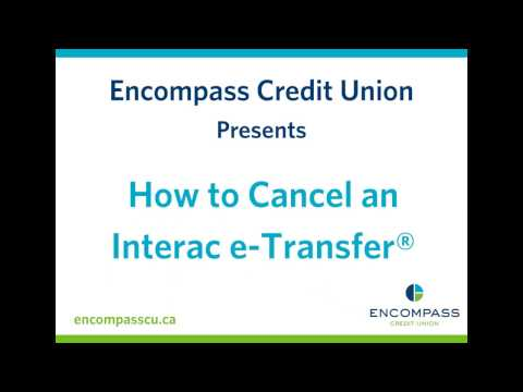 How to Cancel an Interac e-Transfer®