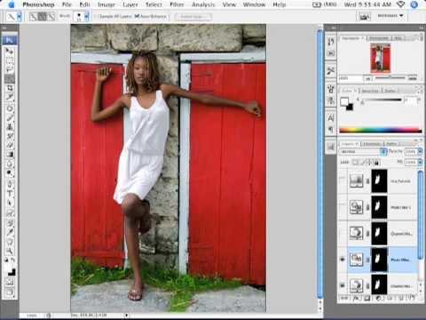 Adobe Photoshop Tutorial cs3 cs4 cs5 Changing Colors