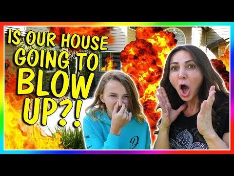IS OUR HOUSE GOING TO BLOW UP?!?!   We Are The Davises
