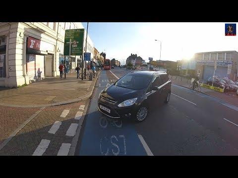 Minicab - Cyclist, What Cyclist? - AF14 UCH