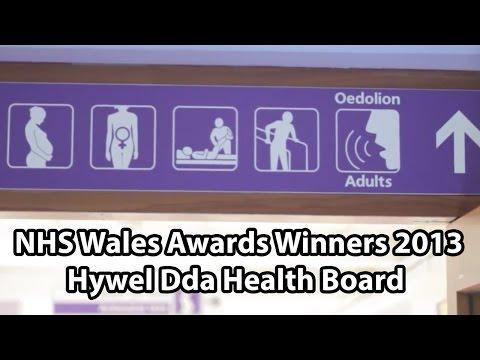 NHS Wales Awards Winners 2013 - Hywel Dda Health Board