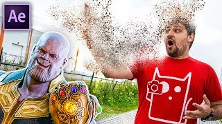 Download THANOS DISINTEGRATION - After Effects (NO PLUGINS) Video