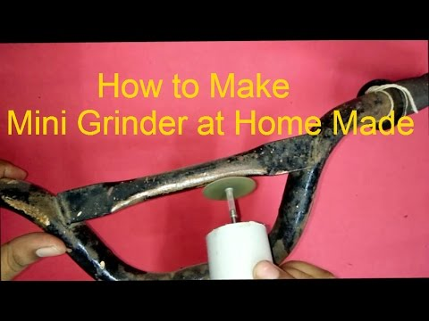 How to Make Grinder Machine at Home Made...DIY