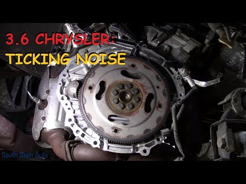 Caravan / Pacifica / Town & Country 3.6L: Ticking Noise In Engine
