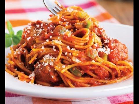 How to Make Italian Sausage Spaghetti