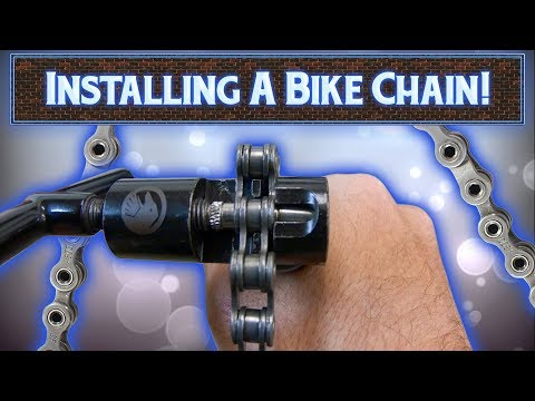 How To Install A BMX Chain | All Methods!