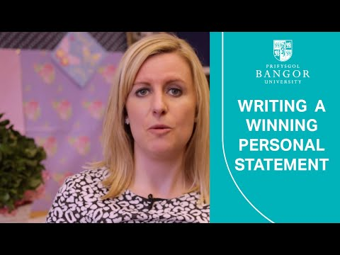 How to write a winning Personal Statement - Get Ready for University