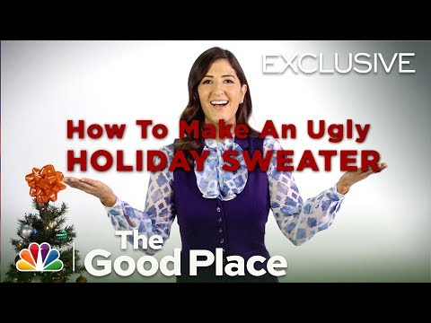 The Good Place - Janet's Ugly Sweater Tutorial (Digital Exclusive)