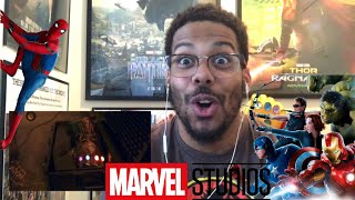 Marvel Studios' 10 Year Anniversary SweepStakes and Exclusive Look Behind the Scenes Reaction!