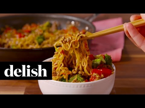 Beef Ramen Stir Fry | Delish