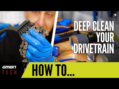Deep Clean Your Mountain Bike Drive Train | GMBN Tech How To