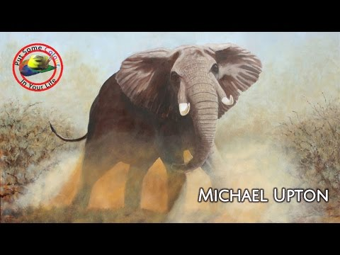 Fine art Tips with a Free Wildlife Oil Art Lesson with Michael Upton on Color In Your Life