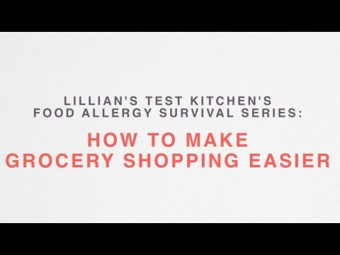 How To Make Grocery Shopping Easier With Food Allergies