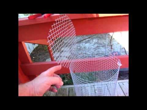 How to Make a Fish Trap for Bait