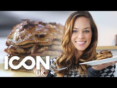 Super Easy Banana & Chocolate Pancakes | Danielle Hayley