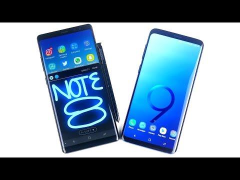 Note 8 vs S9 Plus Speed Test!