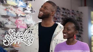 Download ″Us″ Stars Lupita Nyong'o And Winston Duke Go Sneaker Shopping With Complex Video