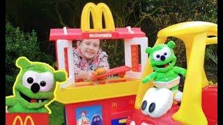 Gummy Bear Pretend Play at McDonald
