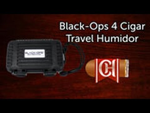 Black Ops 4 Cigar Travel Humidor