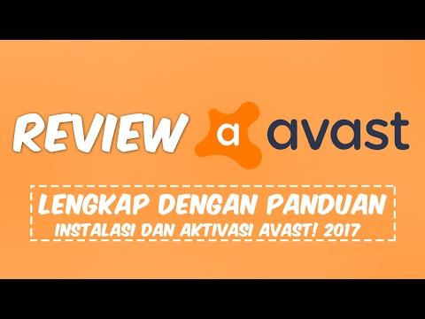 Review, Cara Instal dan Aktivasi Avast 2017 Final All Edition