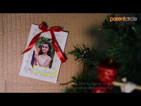 DIY Christmas Gift: Photo Frame Fridge Magnet