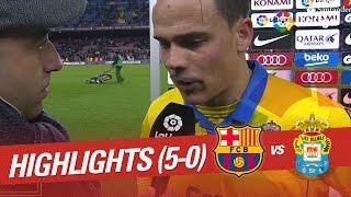 Resumen de FC Barcelona vs UD Las Palmas (5-0)