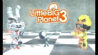 Littlebigplanet 3 - Get Back!!! [fnaf Deathrun] - Playstation 4