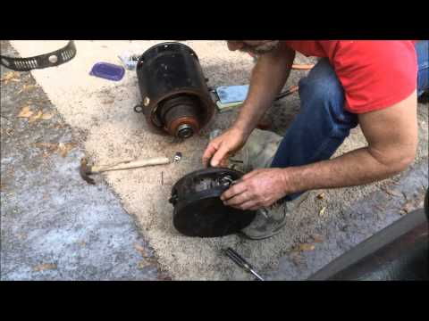 DC Series Motor Clean Up