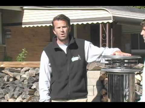 Class A chimney stove replacement part 1
