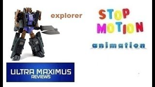 Explorer Stop Motion Animation