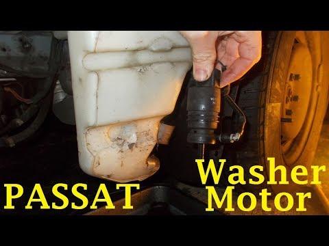 Volkswagen Passat Windscreen Washer Motor Change