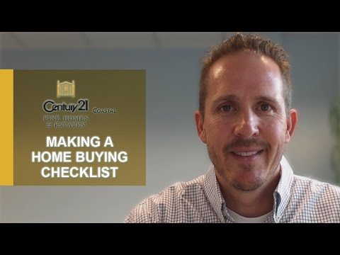 Northeast Florida Real Estate Agent: 3 Items That Should Be on Your Home Buying Checklist