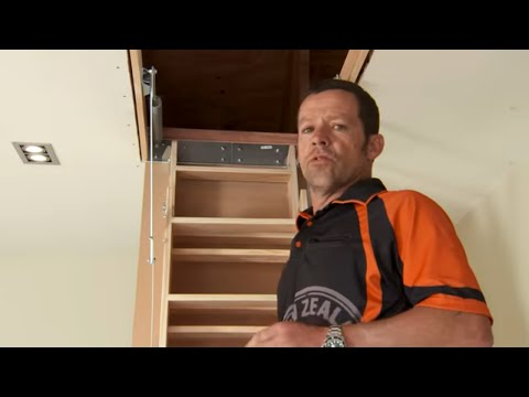 How to install Attic Stairs | Mitre 10 Easy As
