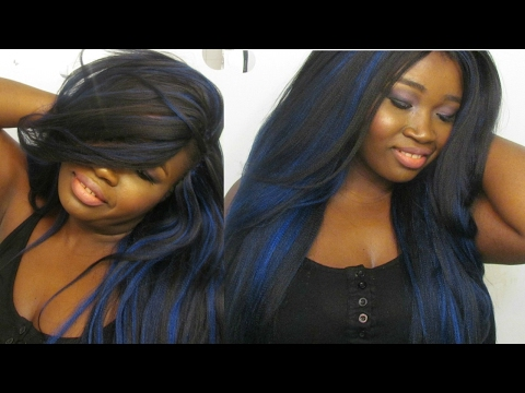 LAYERED CROCHET BRAIDS (Middle + Side Part)