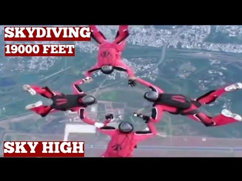 Skydiving And Parachute Jump