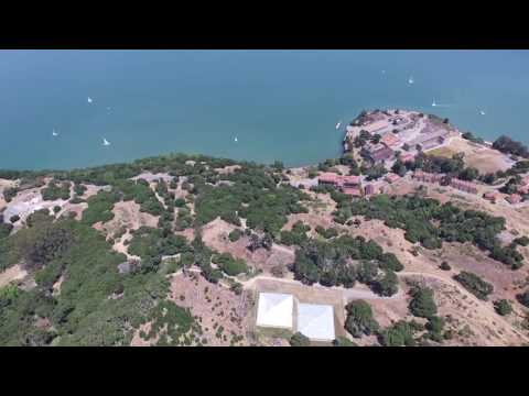 Tiburon and Angel Island - San Francisco. Shot with Phantom 3 Professional