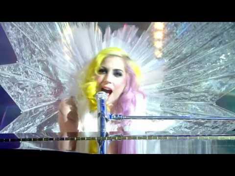 Lady GaGa - Brown Eyes (Live on Jonathan Ross) [HD]