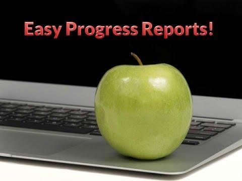 Easy Progress Reports for Preschool